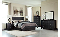 Ashley Prattfield Queen Headboard/Dresser/Mirror/Ntsd