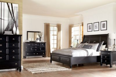 Ashley Greensburg 4-Piece Queen Storage Bedroom Set