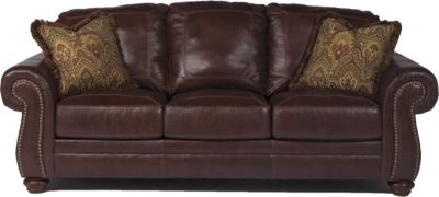 Ashley Hessel Leather Sofa