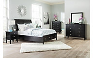 Ashley Braflin 4-Piece Queen Storage Bedroom Set