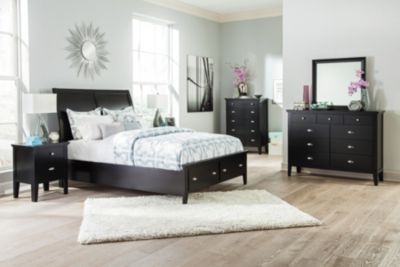 Ashley Braflin 4-Piece King Storage Bedroom Set