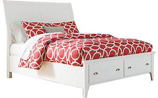 Ashley Langlor Queen Storage Bed