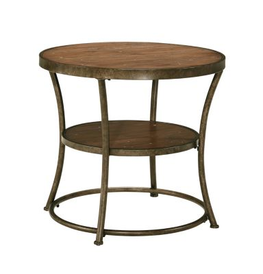Ashley Nartina Round End Table