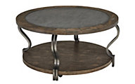 Ashley Volanta Round Coffee Table