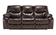 Ashley Pranas Power Reclining Sofa