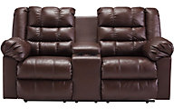 Ashley Broylane Reclining Loveseat with Console