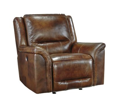 Ashley Jayron Leather Power Rocker Recliner