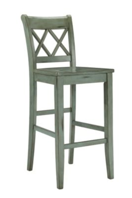 Ashley Mestler Blue Bar Stool