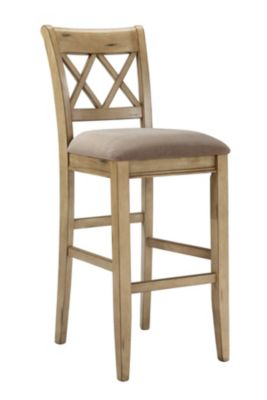 Ashley Mestler White Bar Stool