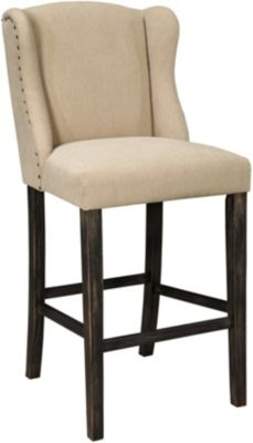 Ashley Moriann Upholstered Bar Stool