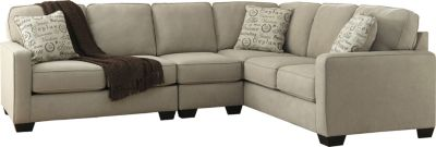 Ashley Alenya Quartz Right-Side Sofa 3-Piece Sectional