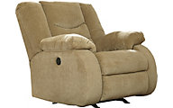 Ashley Garek Tan Rocker Recliner