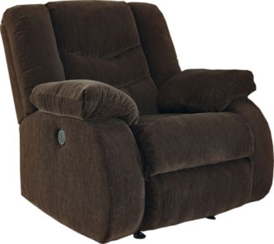 Ashley Garek Brown Rocker Recliner