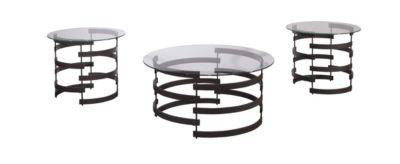 Ashley Kaymine Coffee Table & 2 End Tables