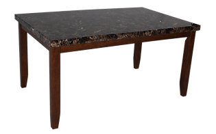 Ashley Lacey Faux Marble Table
