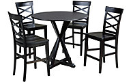 Ashley Berlmine Counter Table & 4 Stools
