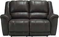 Ashley Niarobi Charcoal Reclining Loveseat