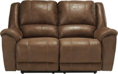 Ashley Niarobi Saddle Reclining Loveseat