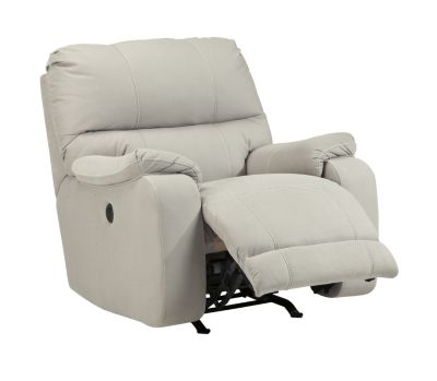 Ashley Bohannon Cream Power Rocker Recliner