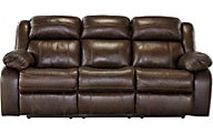 Ashley Branton Leather Reclining Sofa