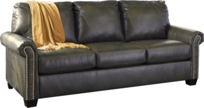 Ashley Lottie Gray Queen Sleeper Sofa with Memory Foam