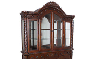 Ashley North Shore China Hutch Top Only