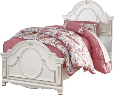 Ashley Korabella Twin Bed