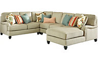 Ashley Kerridon 4-Piece Right-Side Chaise Sectional