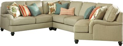 Ashley Kerridon 4-Piece Right-Side Chair Sectional