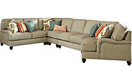 Ashley Kerridon 5-Piece Right-Side Chair Sectional