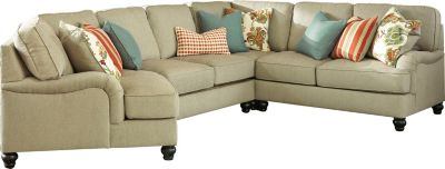 Ashley Kerridon 4-Piece Left-Side Chair Sectional