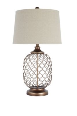Ashley Sanzia Metal Table Lamp
