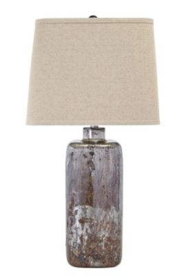 Ashley Shanilly Glass Table Lamp