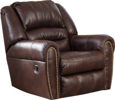 Ashley Manzanola Chocolate Rocker Recliner