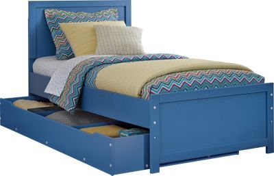 Ashley Bronilly Twin Panel Bed with Trundle