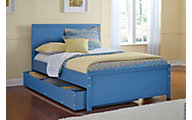 Ashley Bronilly Full Panel Bed with Trundle