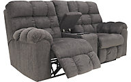 Ashley Acieona Reclining Loveseat with Console