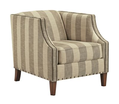 Ashley Berwyn View Striped Accent Chair