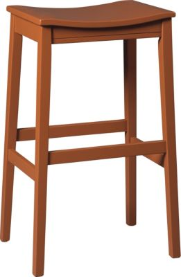 Ashley Bantilly Red Barstool