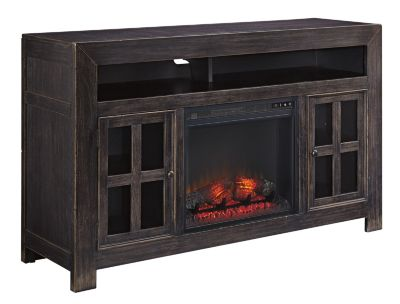 Ashley Gavelston TV Stand with Fireplace