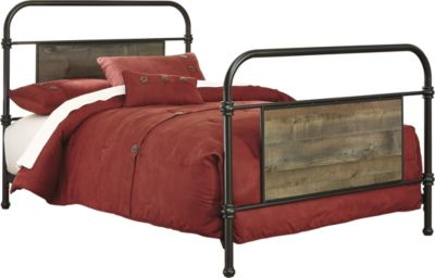 Ashley Trinell Twin Metal Bed