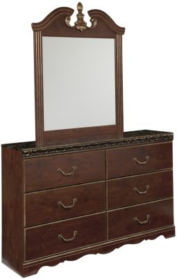 Ashley Naralyn Dresser with Mirror