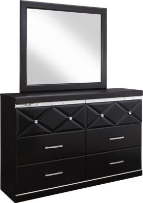 Ashley Fancee Dresser with Mirror