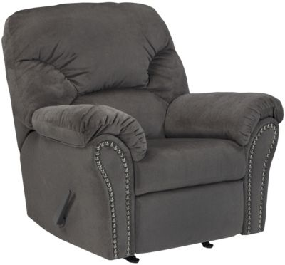 Ashley Kinlock Charcoal Rocker Recliner