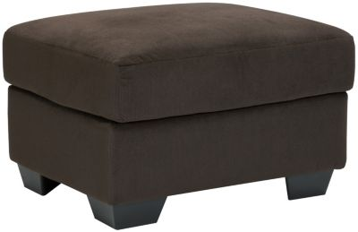 Ashley Kinlock Chocolate Ottoman