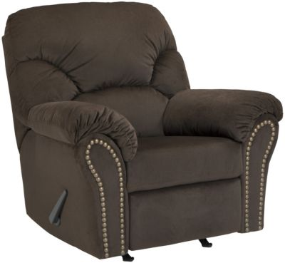 Ashley Kinlock Chocolate Rocker Recliner