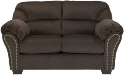 Ashley Kinlock Chocolate Loveseat