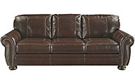 Ashley Banner Leather Queen Sleeper Sofa