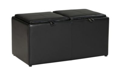 Ashley Brindon Cocktail Ottoman with 2 Cubes
