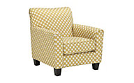 Ashley Brindon Polka Dot Accent Chair